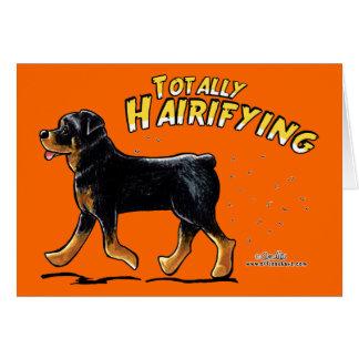 Rottweiler total Hairifying Karte