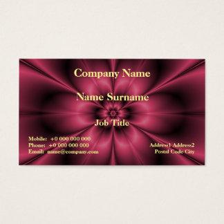 Rotwein-Blume Visitenkarte