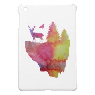 Rotwild auf einer sich hin- und herbewegenden hülle für iPad mini