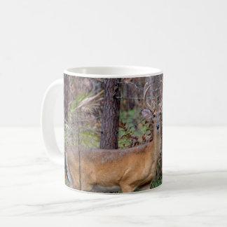 Rotwild im Holz Tasse