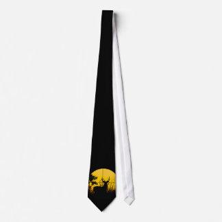 Rotwild in der Fadenkreuz-Krawatte Individuelle Krawatten