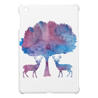 Rotwild-Kunst Hüllen Für iPad Mini