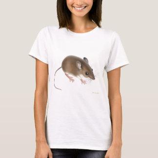 Rotwild-Mäusedamenbabydoll-Shirt T-Shirt