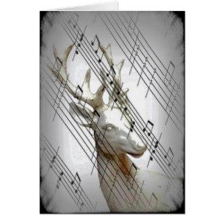 Rotwild mit musikalischen Anmerkungen Karte