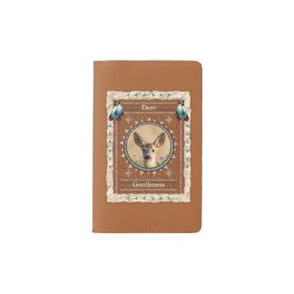 Rotwild - Sanftheits-Notizbuch-Moleskin-Abdeckung Moleskine Taschennotizbuch