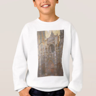 Rouen-Kathedrale 02 durch Claude Monet Sweatshirt