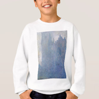 Rouen-Kathedrale im Nebel durch Claude Monet Sweatshirt