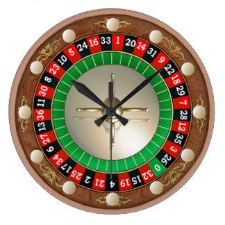 Roulette-Wanduhr Wanduhren