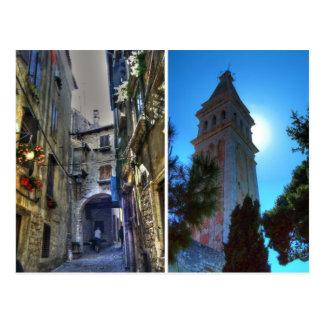 Rovinj, Kroatien Postkarte