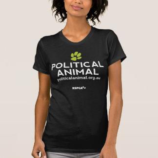 RSPCA politisches tierisches schwarzes Vintages T-Shirt
