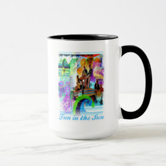 Rück Surfing Mug Tasse