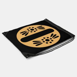 Rucksack-Schnur-Tasche der Boho Turnbeutel