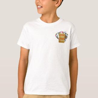 Rückseiten-Druck - POKER PlayingCard Meister T-Shirt