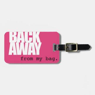 Rückseiten-wegGepäckanhänger Gepäckanhänger