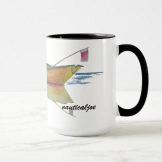 Ruderboot Tasse