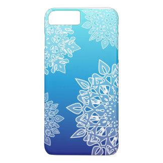 Rufen Sie Fall mit blauer Steigung und iPhone 8 Plus/7 Plus Hülle