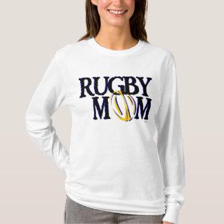 Rugby-Mamma (Blau und Gold) T-Shirt