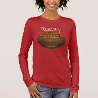 Rugby-Rowdys Langarm T-Shirt