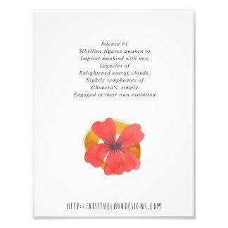 Ruhe 1 - Poesie 8,5 x 11 bedruckbar Fotodruck