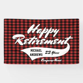 Ruhestands-Party personifizieren Banner