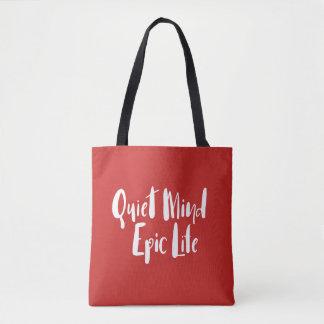 Ruhiger Sinnesepische Leben-Tasche