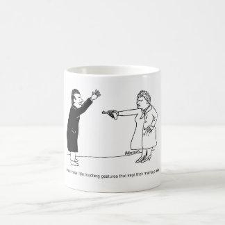 Rührende Gesten-Tasse Tasse
