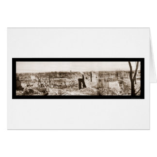 Ruinen in ChelseamassenFoto 1908 Karte