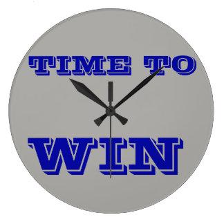 Runde große Wand-Uhr - Zeit, motivierend zu Große Wanduhr