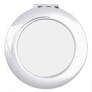 Runder kompakter Spiegel Schminkspiegel