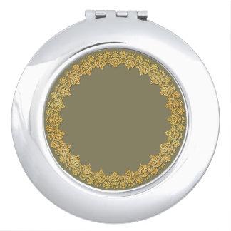 Runder kompakter Spiegel Taschenspiegel