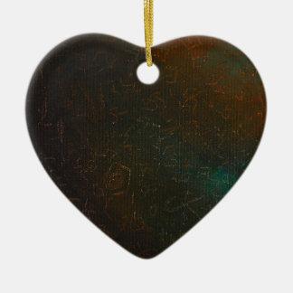 Runen Keramik Ornament