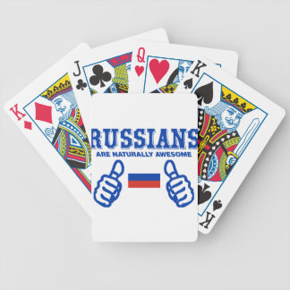 Russe sind natürlich fantastisch spielkarten
