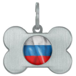 Russische Föderations-Flagge Tiermarke