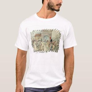 Russische Gefangene führten auf den Boulevard vor T-Shirt