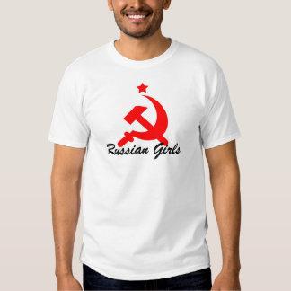 russische Mädchen T-Shirt