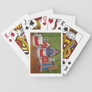 Russische Puppen-Tee-Zeit Spielkarten