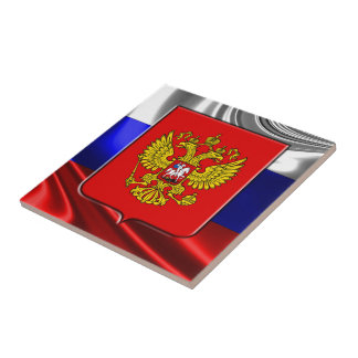 Russisches Wappen Fliese
