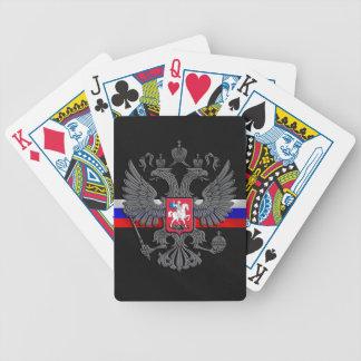 Russisches Wappen Spielkarten