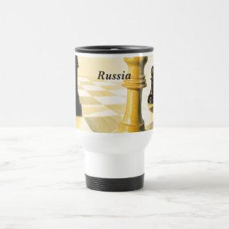 Russland-Schach Reisebecher