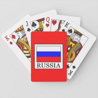 Russland Spielkarte