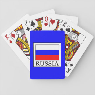 Russland Spielkarten