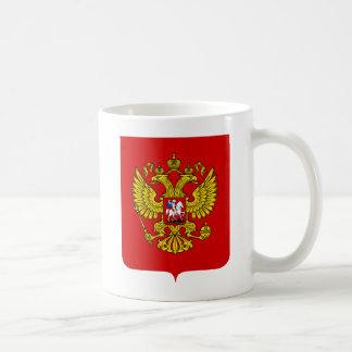Russland-Wappen Tasse