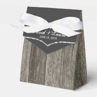Rustikale Hochzeit Geschenkkartons