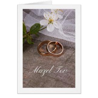Rustikale Hochzeit Grußkarte