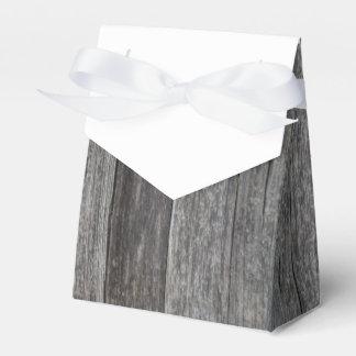 Rustikale hölzerne Hochzeit Geschenkkartons