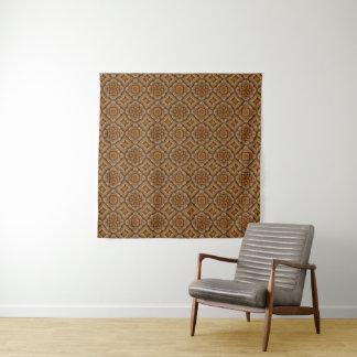 Rustikale Skala-Vintage Wandteppich
