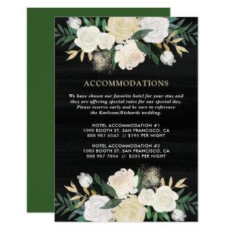 Rustikales Aquarell-blasse 8,9 X 12,7 Cm Einladungskarte