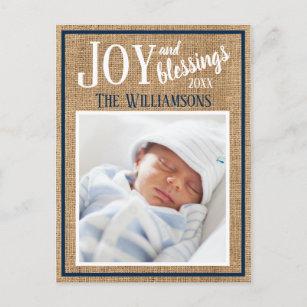 Weihnachtskarten Babyfoto.Baby Segen Karten Zazzle At