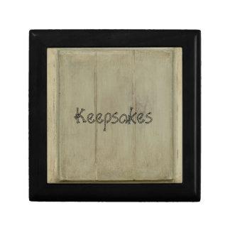 Rustikales gemaltes Holz Geschenkbox