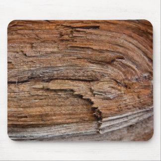 Rustikales Holz Mousepads